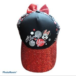 Disney Youth Minnie Mouse Glitter Youth Bow